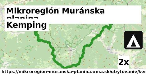 ilustračný obrázok k Kemping, Mikroregión Muránska planina