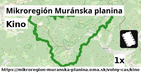 ilustračný obrázok k Kino, Mikroregión Muránska planina