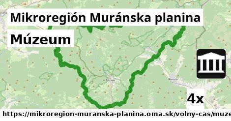 ilustračný obrázok k Múzeum, Mikroregión Muránska planina
