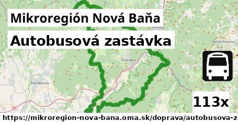 ilustračný obrázok k Autobusová zastávka, Mikroregión Nová Baňa