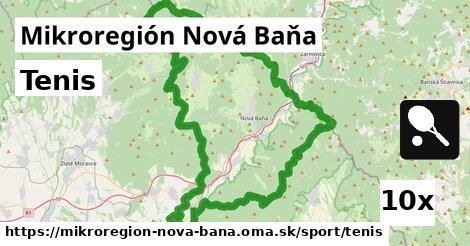 tenis v Mikroregión Nová Baňa