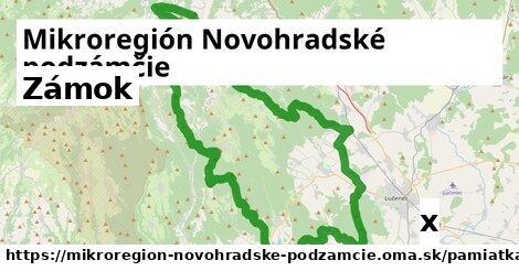 zámok v Mikroregión Novohradské podzámčie