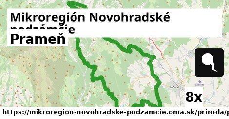 prameň v Mikroregión Novohradské podzámčie