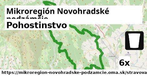 pohostinstvo v Mikroregión Novohradské podzámčie