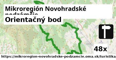 orientačný bod v Mikroregión Novohradské podzámčie