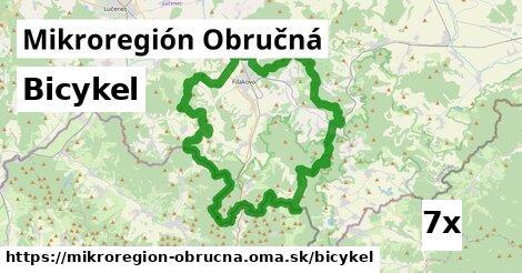 bicykel v Mikroregión Obručná
