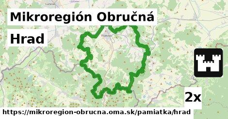 ilustračný obrázok k Hrad, Mikroregión Obručná
