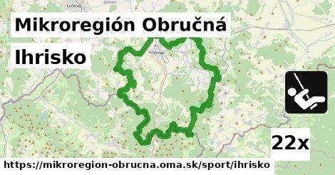 ilustračný obrázok k Ihrisko, Mikroregión Obručná