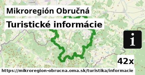 ilustračný obrázok k Turistické informácie, Mikroregión Obručná
