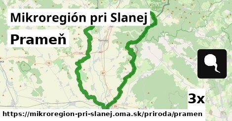 ilustračný obrázok k Prameň, Mikroregión pri Slanej