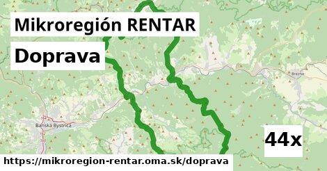 doprava v Mikroregión RENTAR