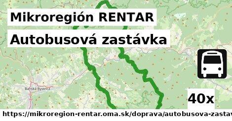 ilustračný obrázok k Autobusová zastávka, Mikroregión RENTAR