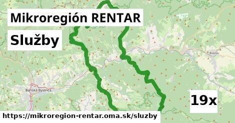 služby v Mikroregión RENTAR