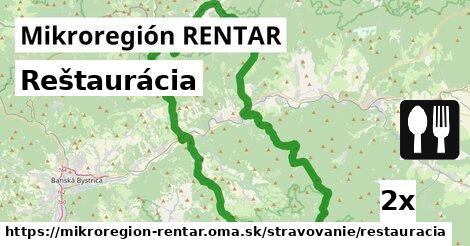ilustračný obrázok k Reštaurácia, Mikroregión RENTAR