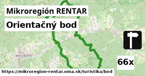 orientačný bod v Mikroregión RENTAR
