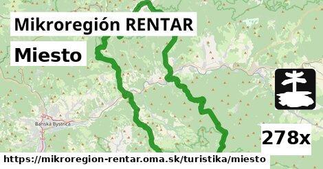 miesto v Mikroregión RENTAR