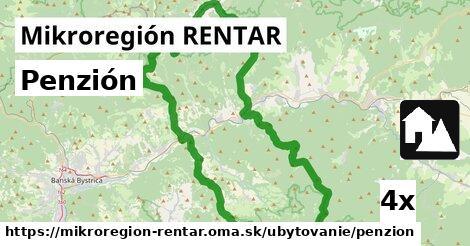 ilustračný obrázok k Penzión, Mikroregión RENTAR