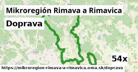 doprava v Mikroregión Rimava a Rimavica