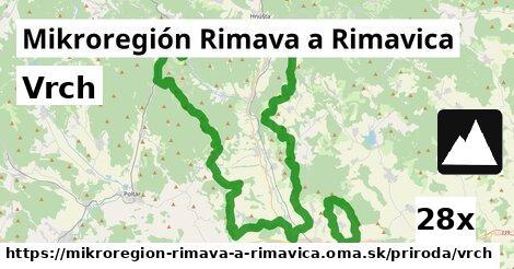 vrch v Mikroregión Rimava a Rimavica