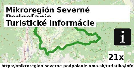 ilustračný obrázok k Turistické informácie, Mikroregión Severné Podpoľanie