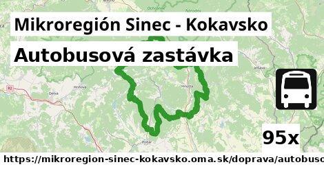 ilustračný obrázok k Autobusová zastávka, Mikroregión Sinec - Kokavsko