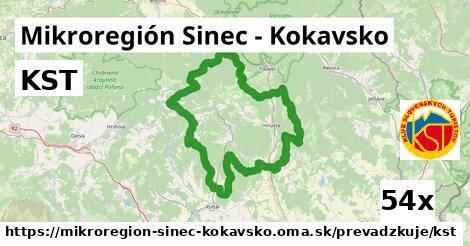 ilustračný obrázok k KST, Mikroregión Sinec - Kokavsko
