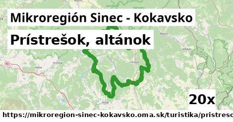 ilustračný obrázok k Prístrešok, altánok, Mikroregión Sinec - Kokavsko