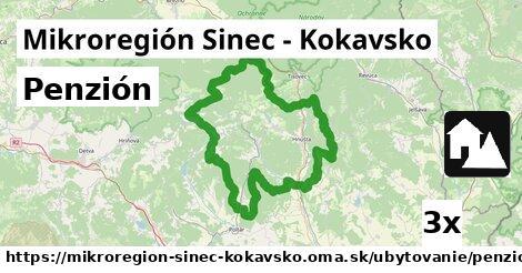 ilustračný obrázok k Penzión, Mikroregión Sinec - Kokavsko