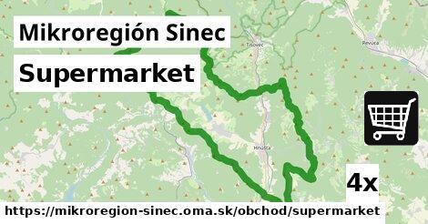 supermarket v Mikroregión Sinec
