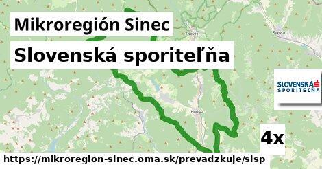 Slovenská sporiteľňa v Mikroregión Sinec