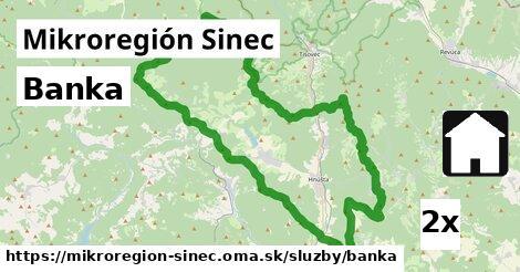 banka v Mikroregión Sinec