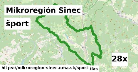 šport v Mikroregión Sinec