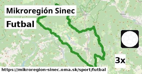 futbal v Mikroregión Sinec