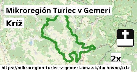 ilustračný obrázok k Kríž, Mikroregión Turiec v Gemeri