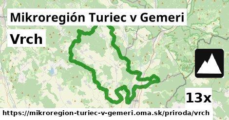 ilustračný obrázok k Vrch, Mikroregión Turiec v Gemeri