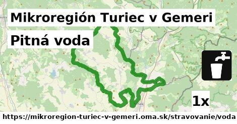 ilustračný obrázok k Pitná voda, Mikroregión Turiec v Gemeri