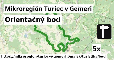 ilustračný obrázok k Orientačný bod, Mikroregión Turiec v Gemeri
