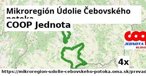 COOP Jednota v Mikroregión Údolie Čebovského potoka