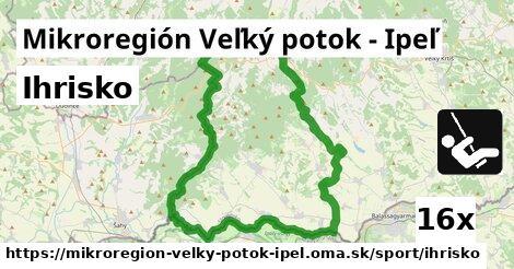 ilustračný obrázok k Ihrisko, Mikroregión Veľký potok - Ipeľ