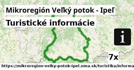 ilustračný obrázok k Turistické informácie, Mikroregión Veľký potok - Ipeľ