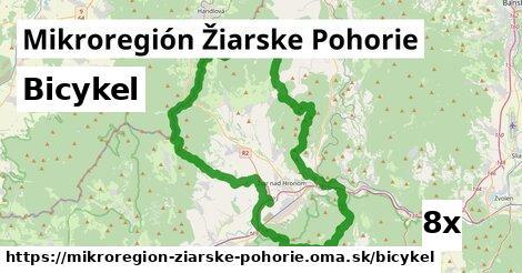 bicykel v Mikroregión Žiarske Pohorie