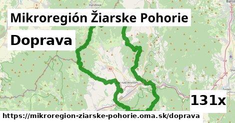 doprava v Mikroregión Žiarske Pohorie