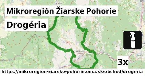 drogéria v Mikroregión Žiarske Pohorie