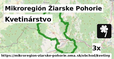kvetinárstvo v Mikroregión Žiarske Pohorie