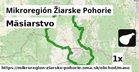 mäsiarstvo v Mikroregión Žiarske Pohorie
