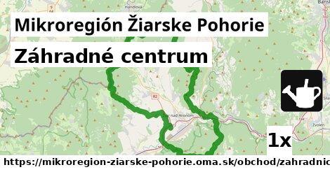 záhradné centrum v Mikroregión Žiarske Pohorie