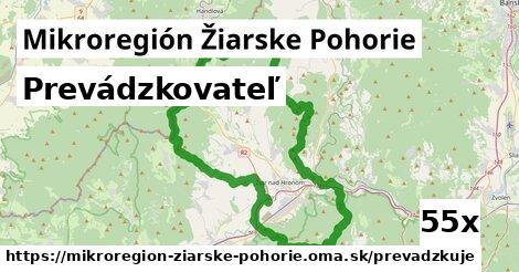prevádzkovateľ v Mikroregión Žiarske Pohorie