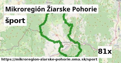 šport v Mikroregión Žiarske Pohorie