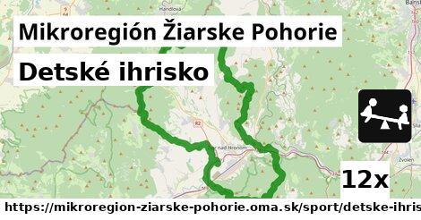 detské ihrisko v Mikroregión Žiarske Pohorie