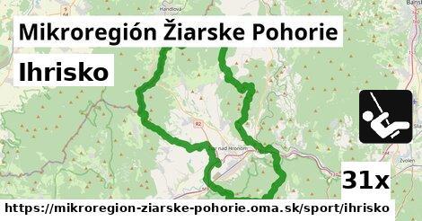 ihrisko v Mikroregión Žiarske Pohorie